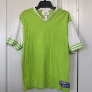 Vintage Express Lime Green Jersey Size Medium